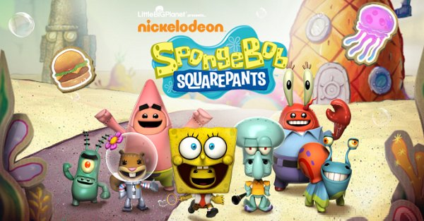 Little Big Planet Spongebob Stickers Wwwimagenesmicom